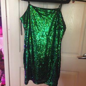NWT Sequin mini dress